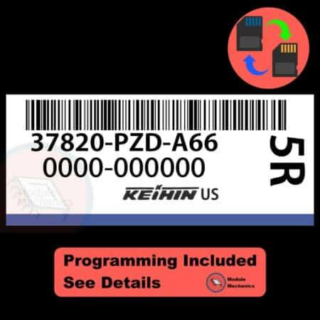 37820-PZD-A66 OEM ECU W/ Immobilizer / Security Programming Honda Element