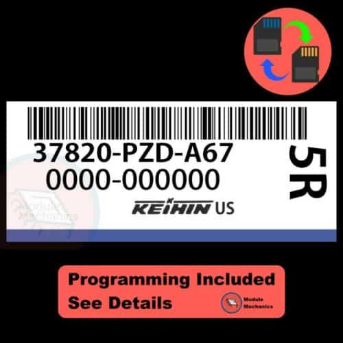 37820-PZD-A67 OEM ECU W/ Immobilizer / Security Programming Honda Element