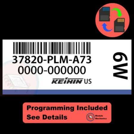 37820-PLM-A73 OEM ECU W/ Immobilizer / Security Programming Honda Civic