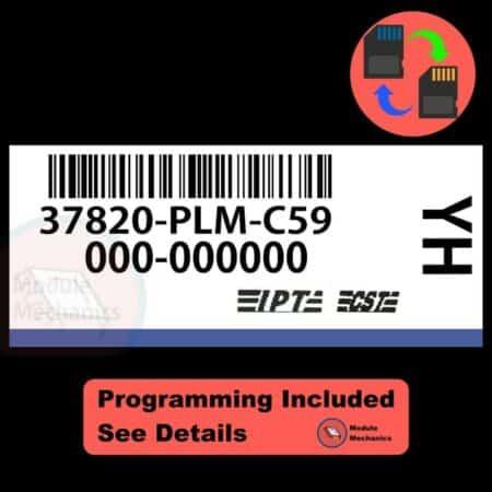 37820-PLM-C59 OEM ECU W/ Immobilizer / Security Programming Honda Civic