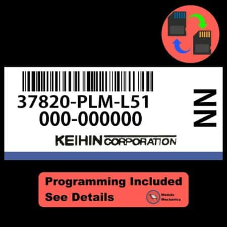37820-PLM-L51 OEM ECU W/ Immobilizer / Security Programming Honda Civic