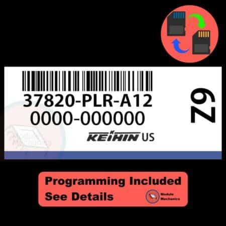 37820-PLR-A12 OEM ECU W/ Immobilizer / Security Programming Honda Civic