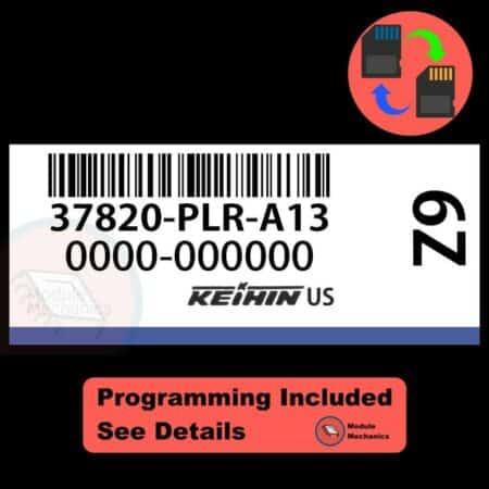 37820-PLR-A13 OEM ECU W/ Immobilizer / Security Programming Honda Civic
