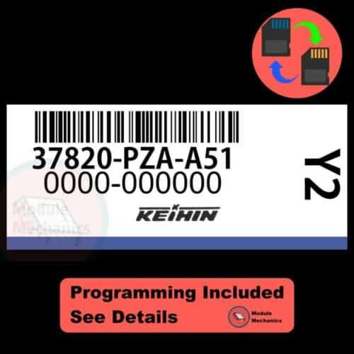 37820-PZA-A51 OEM ECU W/ Immobilizer / Security Programming Honda Civic