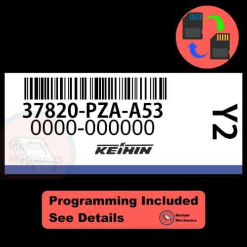 37820-PZA-A53 OEM ECU W/ Immobilizer / Security Programming Honda Civic