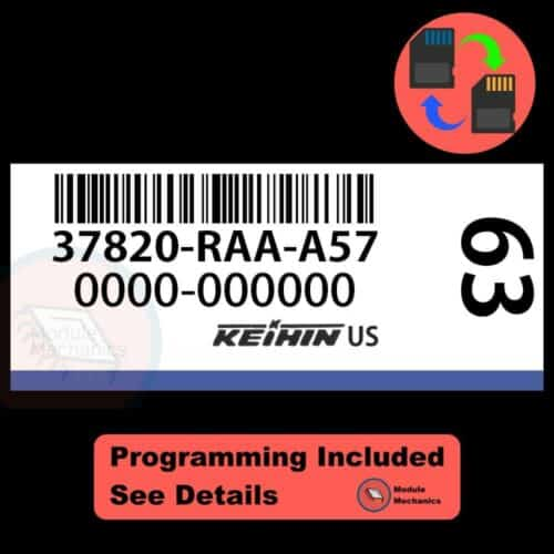 37820-RAA-A57 ECU W/ Immobilizer / Security Programming Honda Accord