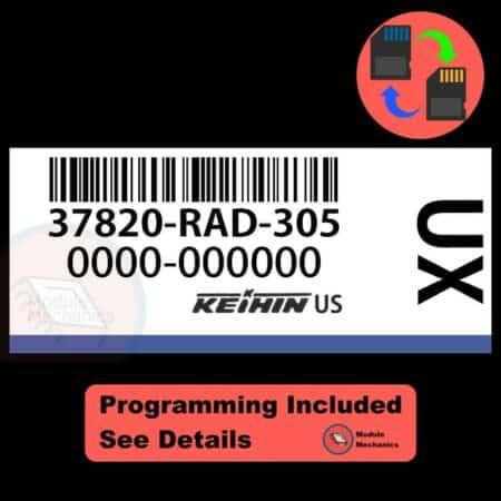 37820-RAD-305 ECU W/ Immobilizer / Security Programming Honda Accord