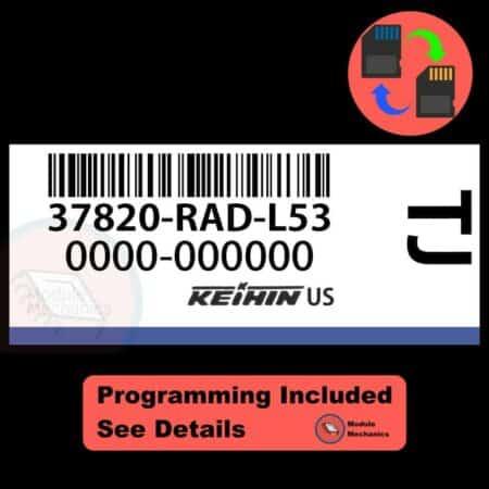 37820-RAD-L53 ECU W/ Immobilizer / Security Programming Honda Accord