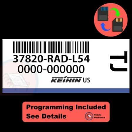 37820-RAD-L54 ECU W/ Immobilizer / Security Programming Honda Accord