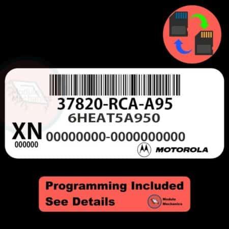 37820-RCA-A95 ECU W/ Immobilizer / Security Programming Honda Accord