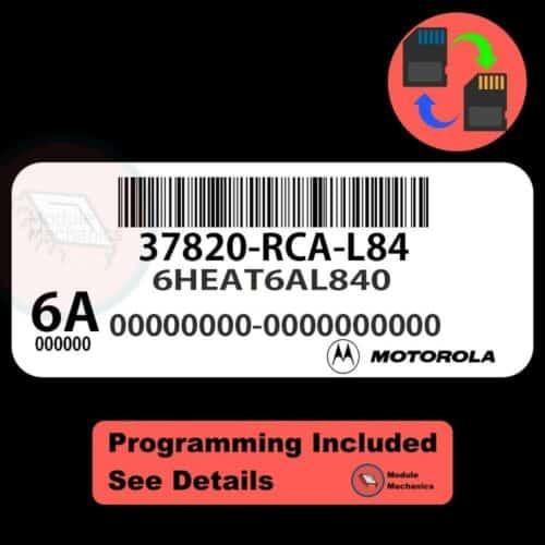 37820-RCA-L84 ECU W/ Immobilizer / Security Programming Honda Accord