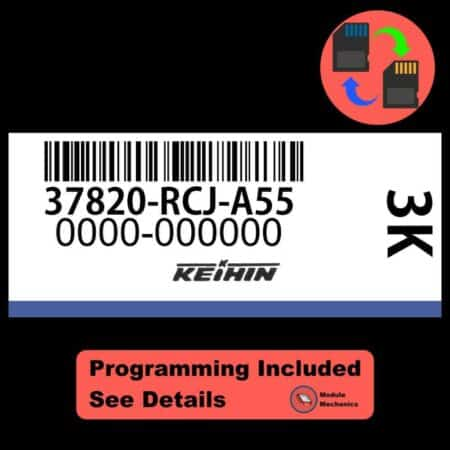 37820-RCJ-A55 ECU W/ Immobilizer / Security Programming Honda Accord