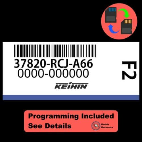 37820-RCJ-A66 ECU W/ Immobilizer / Security Programming Honda Accord