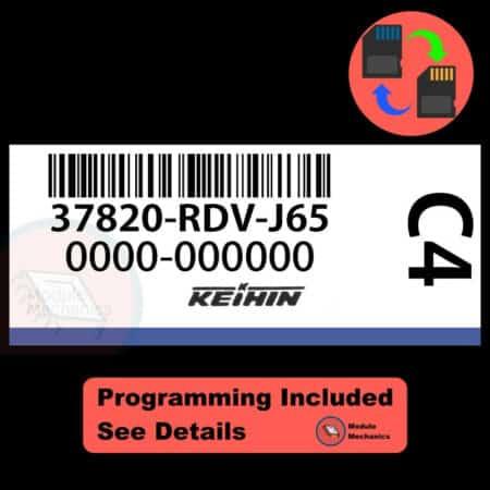 37820-RDV-J65 ECU W/ Immobilizer / Security Programming Honda Accord