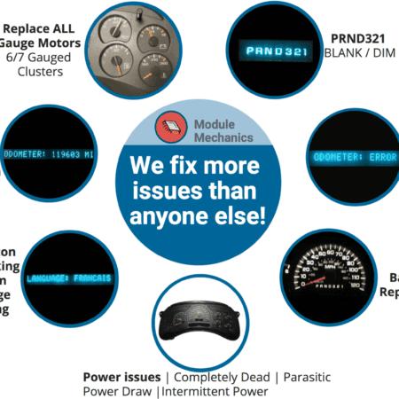 2003-2006 Chevrolet Suburban Gauge Cluster Repair Service