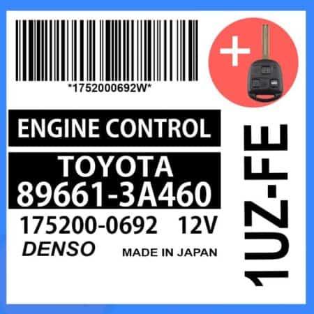 89661-3A460 OEM ECU W/ Programmed Master Key Lexus GS400