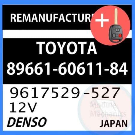 Compatible: 1998 1999 Toyota Land Cruiser OEM Part Number: 89661-60611-84   896616061184   9617529-527   9617529-527