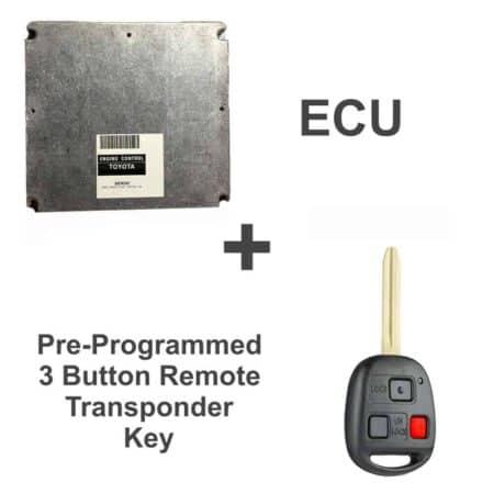 89666-60360 ECU & Programmed Master Key | Toyota Land Cruiser