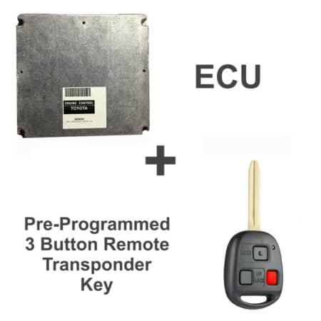 89666-60261 ECU & Programmed Master Key | Toyota Land Cruiser