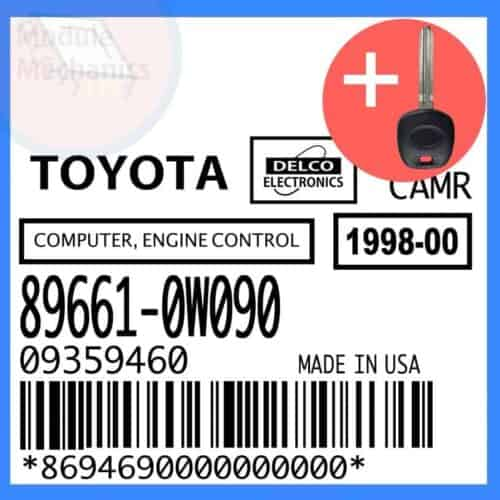 Compatible: 1999 Toyota Camry OEM Part Number:89661-0W090 | 896610W090 | 09359460