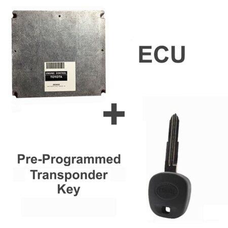 89661-17670 ECU & Programmed Master Key for Toyota MR2   OEM Denso