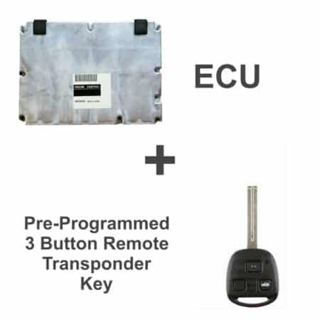 89661-24534 ECU & Programmed Master Key for Lexus SC400   OEM Denso
