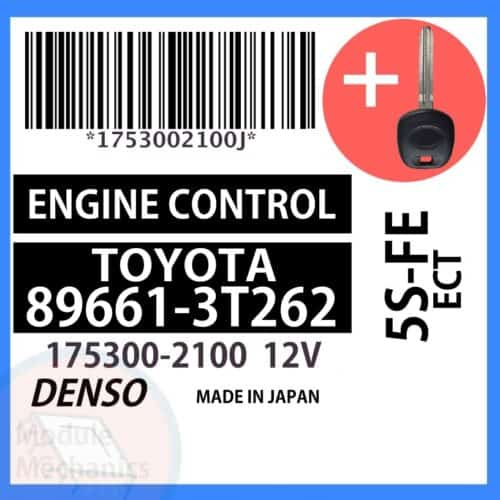 Compatible: 1998 1999 Toyota Camry OEM Part Number: 89661-3T262   896613T262   175300-2100   1753002100