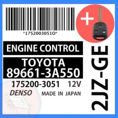 89661-3A550 OEM ECU W/ Programmed Master Key Lexus GS300