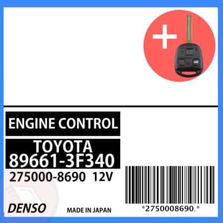 89661-3F340 OEM ECU W/ Programmed Master Key Lexus GS300