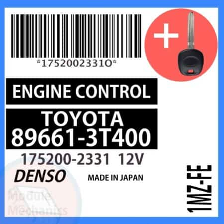 Compatible: 1999 Toyota Camry OEM Part Number:89661-3T400 | 896613T400 | 175200-2331 | 1752002331
