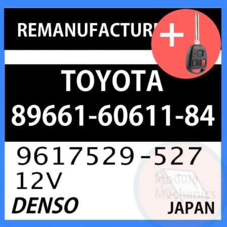 Compatible: 1998 1999 Lexus LX470 OEM Part Number:89661-60611-84 | 896616061184 | 9617529-527 | 9617529527