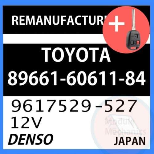 Compatible: 1998 1999 Lexus LX470 OEM Part Number:89661-60611-84   896616061184   9617529-527   9617529527