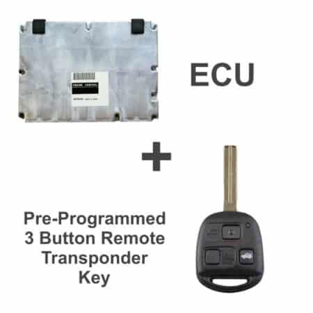89661-3A542 ECU & Programmed Master Key for Lexus GS400 | OEM Denso