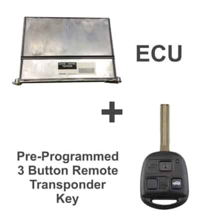 89661-30B00 ECU & Programmed Master Key for Lexus GS300   OEM Denso
