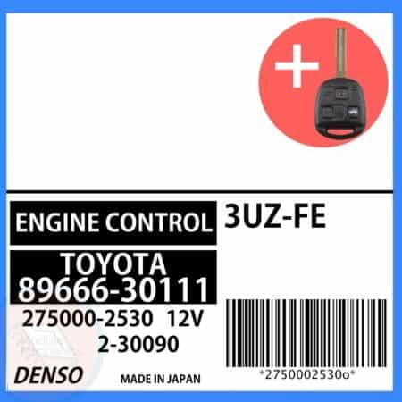Compatible: 2001 Lexus GS430 OEM Part Number: 89666-30111 | 8966630111 | 275000-2530 | 2750002530