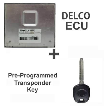 89661-0W111 ECU & Programmed Master Key for Toyota Camry | OEM Delco