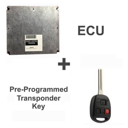 89661-48131 OEM ECU W/ Programmed Master Key Lexus RX300