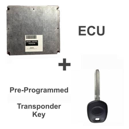 89661-08030 ECU & Programmed Master Key for Toyota Sienna | OEM Denso