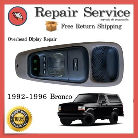 Overhead Temperature Compass Display 1992-1996 Ford Bronco | Repair Service