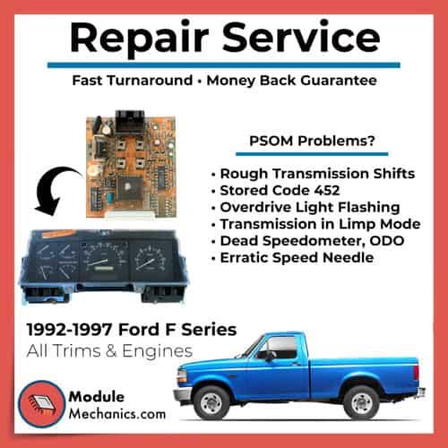 F150 F250 F350 F450 F550 PSOM 1992 1993 1994 1995 1996 Repair