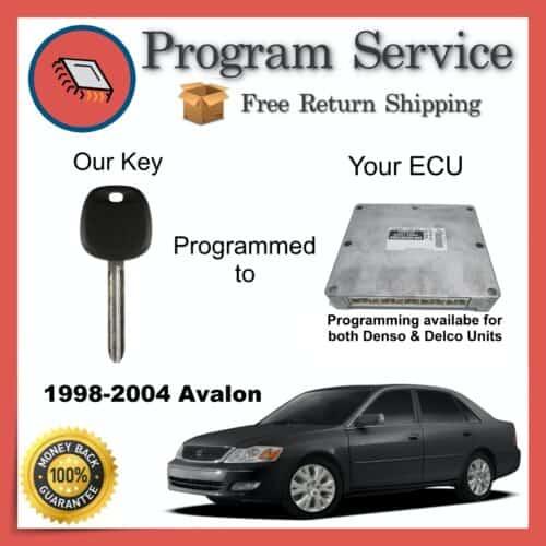 1998-2004 Toyota Avalon Engine ECU to Key Programming Service