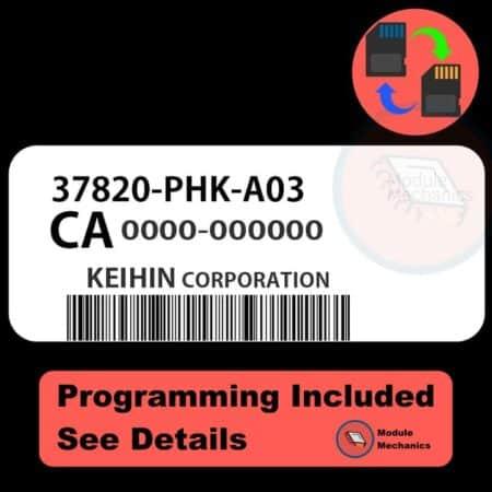 Compatible: 1999 2000 2001 99 00 01 Honda CRV OEM Part Number: 37820-PHK-A03   37820PHKA03
