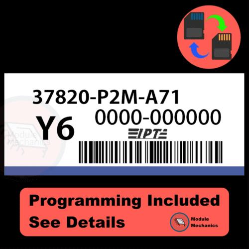37820-P2M-A71 ECU with PROGRAMMING - VIN & Security | Honda CRV | ECM PCM Engine Control Computer OEM