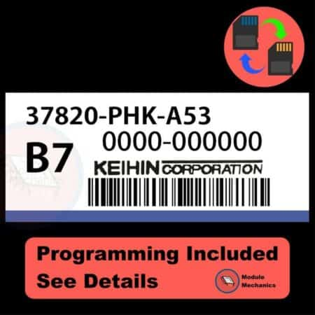 37820-PHK-A53 ECU with PROGRAMMING - VIN & Security   Honda CRV   ECM PCM Engine Control Computer OEM