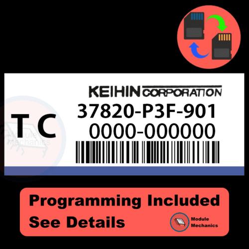 37820-P3F-901 ECU with PROGRAMMING - VIN & Security | Honda CRV | ECM PCM Engine Control Computer OEM