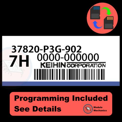 37820-P3G-902 ECU with PROGRAMMING - VIN & Security | Honda CRV | ECM PCM Engine Control Computer OEM
