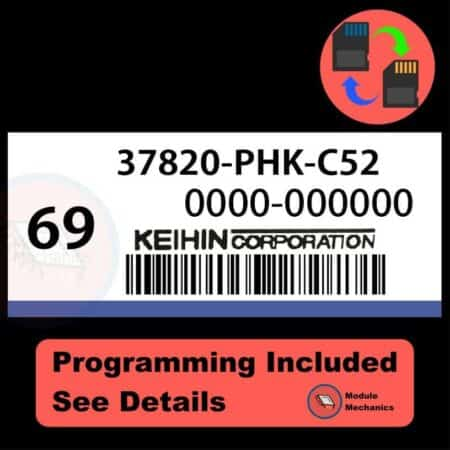 37820-PHK-C52 ECU with PROGRAMMING - VIN & Security   Honda CRV   ECM PCM Engine Control Computer OEM