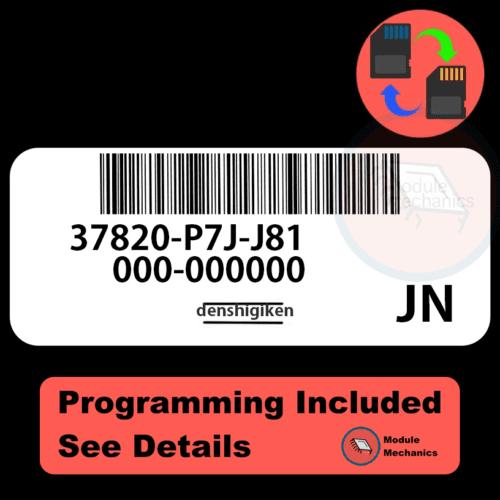 37820-P7J-J8137820-P3F-L61 ECU with PROGRAMMING - VIN & Security | Honda CRV | ECM PCM Engine Control Computer OEM