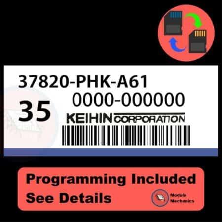 37820-PHK-A61 ECU with PROGRAMMING - VIN & Security | Honda CRV | ECM PCM Engine Control Computer OEM