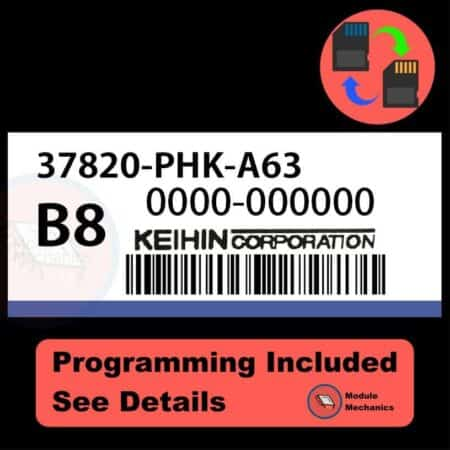 37820-PHK-A63 ECU with PROGRAMMING - VIN & Security | Honda CRV | ECM PCM Engine Control Computer OEM